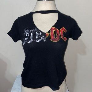 AC/DC by goodie two sleeves top